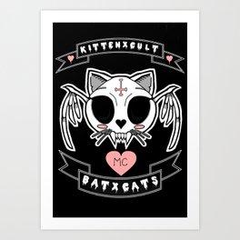 KITTENXCULT MC Art Print