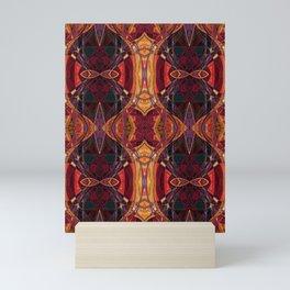 The Jeweled Scarab- Ruby Art Deco Mini Art Print