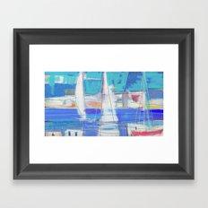 SAILS 1248  Framed Art Print