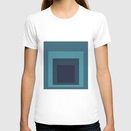 Block Colors - Teal T-shirt
