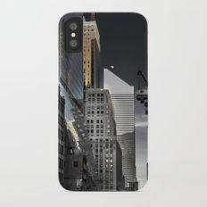New york / Buildings Slim Case iPhone X