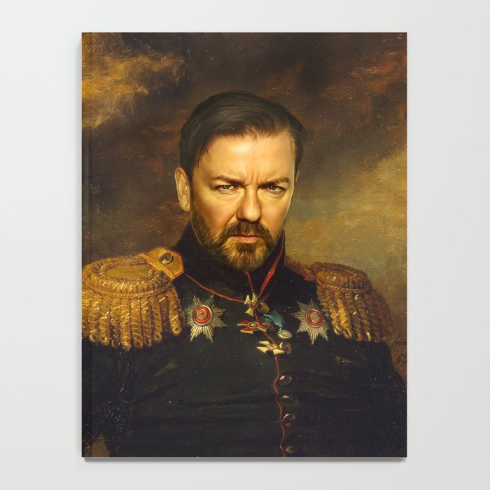 Ricky Gervais - replaceface Notebook