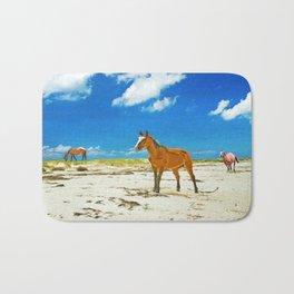 Wild Horses on Cumberland Island Bath Mat