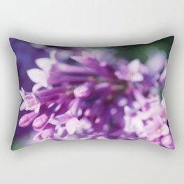 Lilacs close up Rectangular Pillow