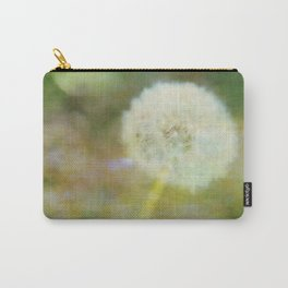 Dandelion Wishes Yellow Carry-All Pouch