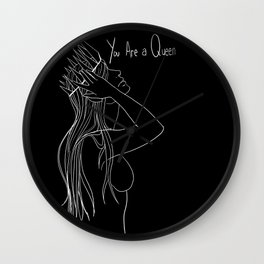 You are a Queen Wall Clock