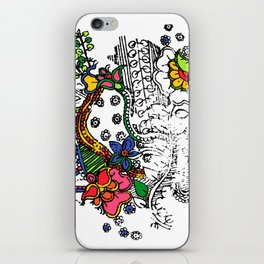 Antique chipping off motif  iPhone Skin