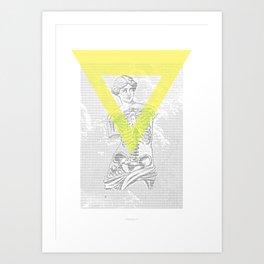 Matrix Milo Art Print