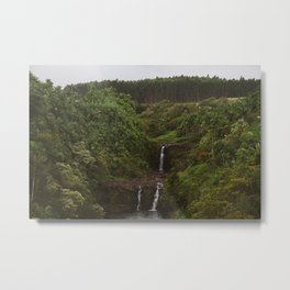 Umauma Falls #2. Metal Print