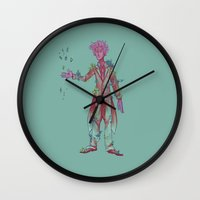 geode Wall Clocks featuring Geode Maker by adorkablyfeline