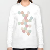 pastel Long Sleeve T-shirts featuring Pastel by According to Panda