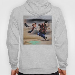 Taking The Cat For A Run Hoody