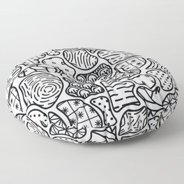 Nature is Everything Floor Pillow