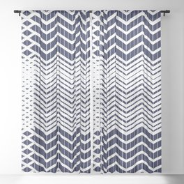 California Sunbeam - Geometric Minimalist Abstract Sheer Curtain