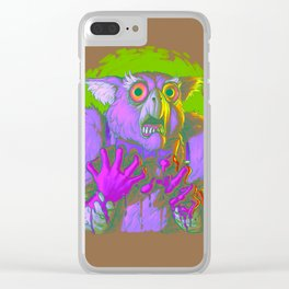 Death Is The Answer, For The Question Is I! Clear iPhone Case