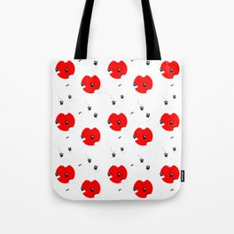 Ninja cats in the sky pattern (Japanese edition) Tote Bag