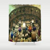 """lanterns Shower Curtains featuring Turkish Lanterns! by  (""""3"""")"""