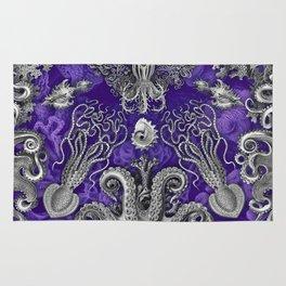 The Kraken (Purple) Rug