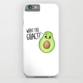 What The Guac - Avocado iPhone Case