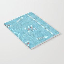 Casablanca Aqua Kilim Notebook