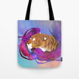 Space Tigey Tote Bag
