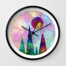 Sun Peak Wall Clock