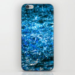 Water Color - Blue iPhone Skin