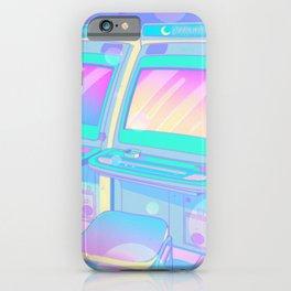 Pastel Glitch iPhone Case