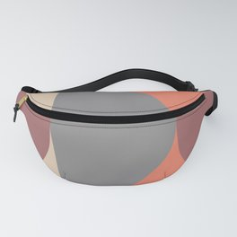Mid Century Modern Geometric Abstract 238 Fanny Pack