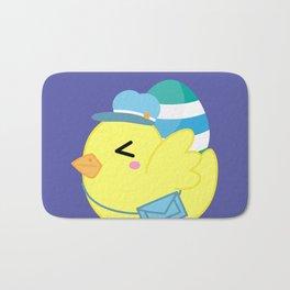 Courier Chicken Bath Mat