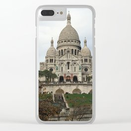 Sacre Coeur Clear iPhone Case