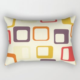 Mid Century Modern Geometric Art 02 #society6 #buyart  Rectangular Pillow
