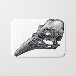 Bird Skeleton Bath Mat