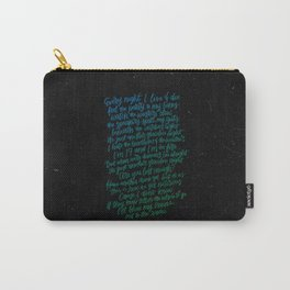 Perfect Places(Blue Green) Carry-All Pouch