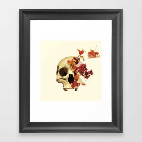 Wither Framed Art Print