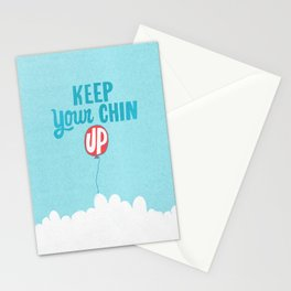 Keep Your Chin Up Stationery Cards