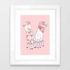 Melody and Rhythm Framed Art Print
