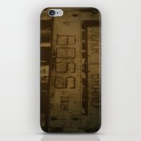 boss iPhone & iPod Skins featuring boss by n8 bucher
