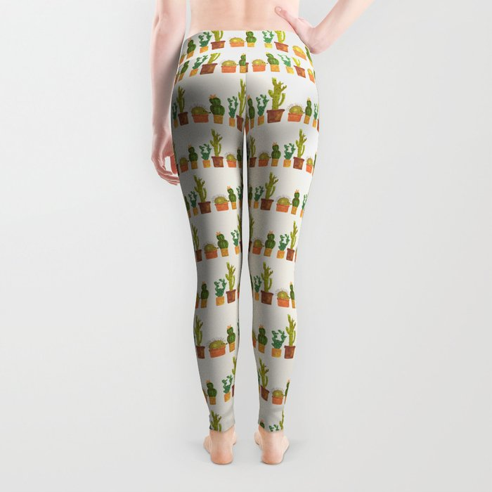 Hedgehog and Cactus (incognito) Leggings