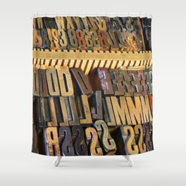 Type Drawer Shower Curtain
