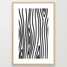 Raw Pattern Series: n.3 Framed Art Print