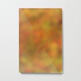 50 Shades of Yellow-Orange Metal Print
