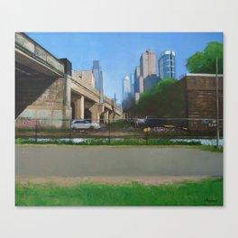 Bowels Of The City Canvas Print