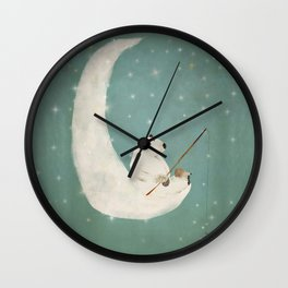 catch a falling star Wall Clock