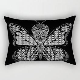 black mothman prophecy ecopop Rectangular Pillow