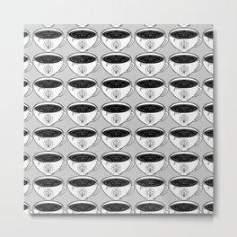 Mug 3 - cozy illustration, pattern Metal Print