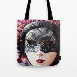 Carnival of Venice - Girl in Mask Tote Bag