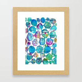 Freestyle watercolor Framed Art Print