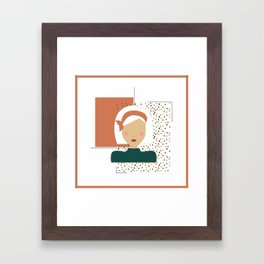 Jungle Gal Framed Art Print