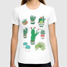 Illustrated Cactii T-shirt